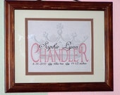 Personalized Baby Princess With Crown Background 8x10