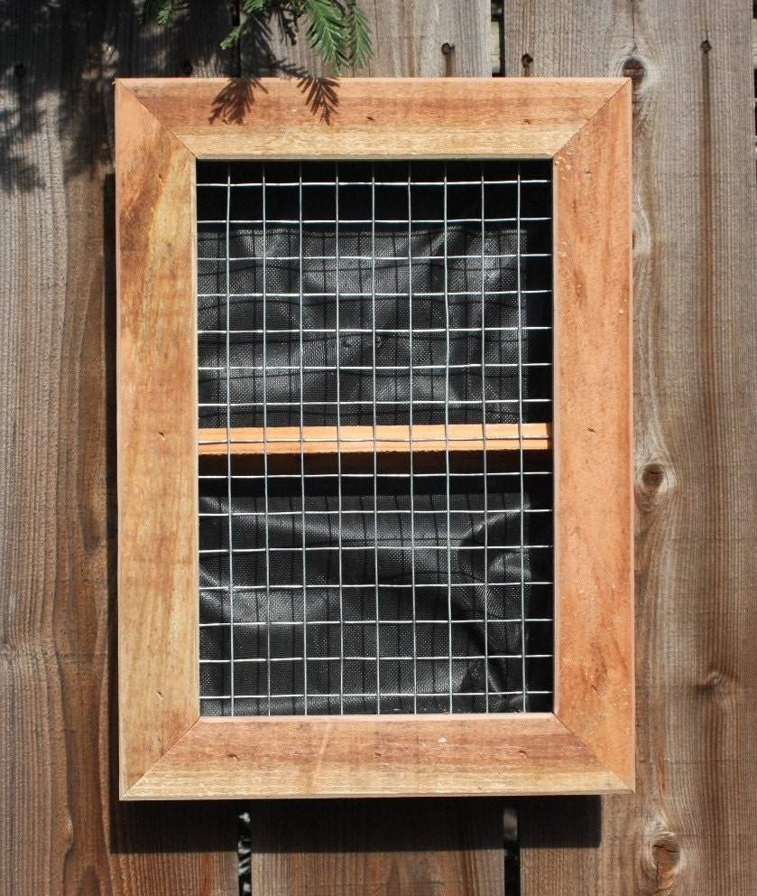 Vertical wall planter boxes for succulents for Vertical planter boxes