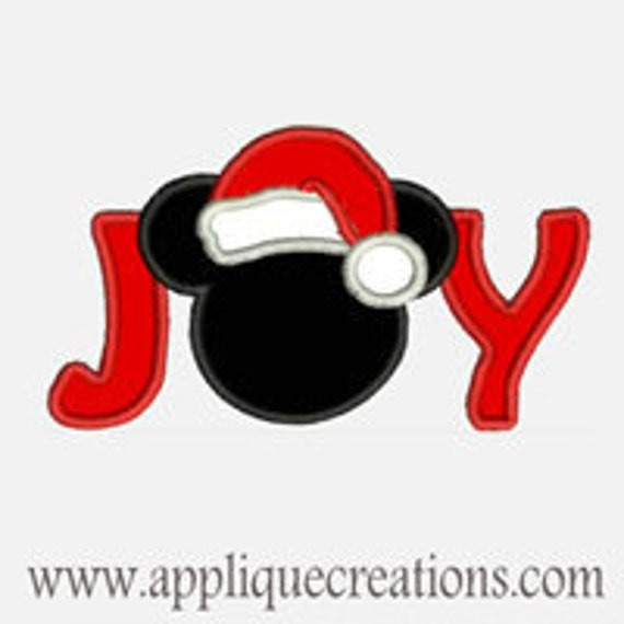 Mr Mouse Joy...Embroidery Applique Design...Two sizes for multiple hoops...Item1331.