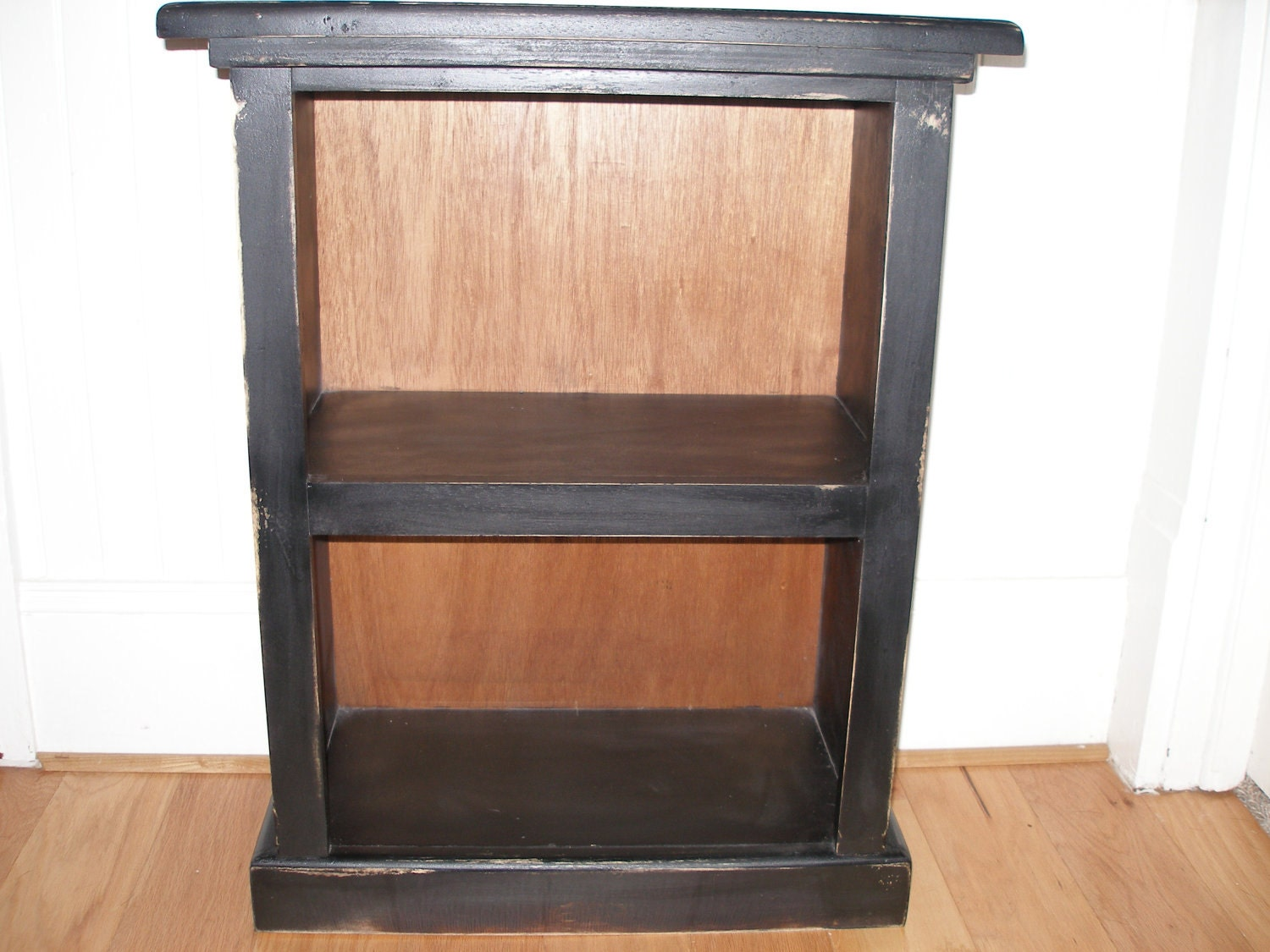 small two shelf bookcase by rusticfurnishings on etsy. Black Bedroom Furniture Sets. Home Design Ideas