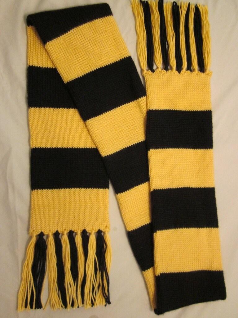 hogwarts scarf hufflepuff