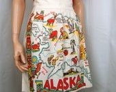 40's Souvenir Apron Alaska