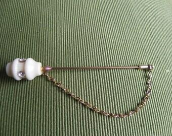 Vintage Goldtone Art Deco Style Stickpin