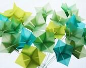 Sea Gemz Translucent Origami Flower Bouquet