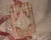 Paper Sachet Gift Tags Paris Chic Collection (PSGT0010) Customize ECS