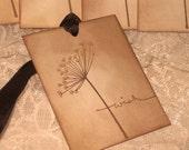 Vintage Inspired Wedding Wish Tree Tags ECS
