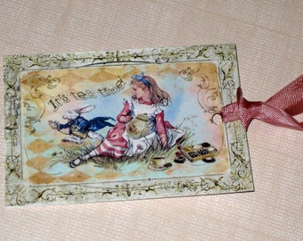 Alice in Wonderland Gift Tags ECS