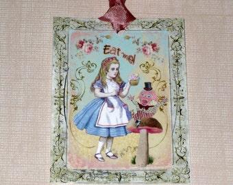 Alice in Wondeland Gift Tags ECS