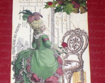 Marie Antoinette Gift Tags for Christmas ECS Paris