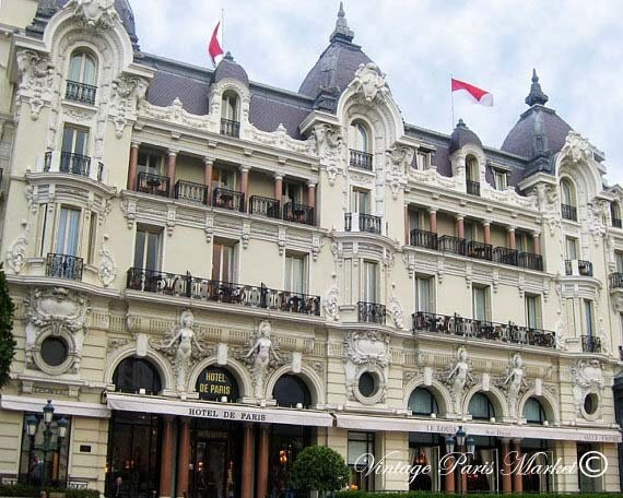 Fine Art Photography Home Decor Hotel De Paris Monte Carlo France ECS