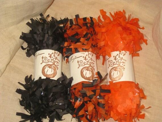 Tissue Paper Garland Festoon French Feston 6 Yards (18 Feet) Harvest Fall Halloween