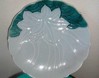 Pretty Vintage Celadon Dish
