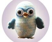 Baby Owl Crochet Pattern PDF