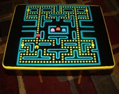 Retro Pacman Folding TV Tray Table