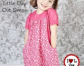 The Little Day Out Dress super cute - Instant Download PDF Sewing Pattern
