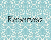 RESERVED for Robin
