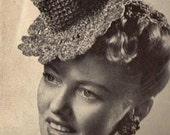 Little Top Hat crochet pattern pdf