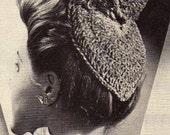 Vintage 'Butterfly' Hat Crochet pattern pdf