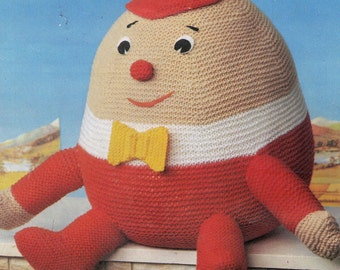 Humpty Dumpty Knitting Pattern pdf