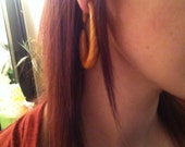 Tear drop Shaped, available in many colors and sizes. Plugs, hoops