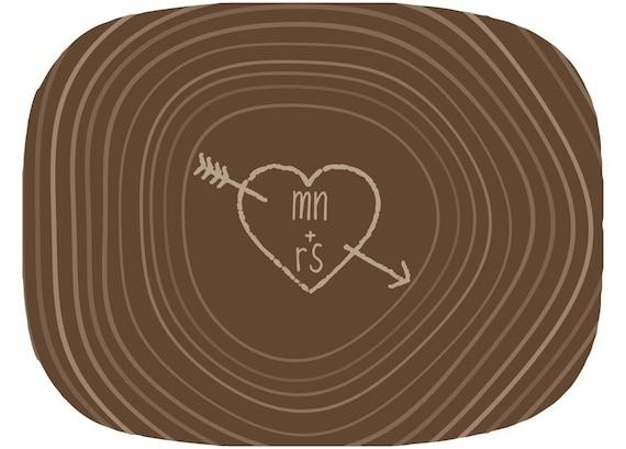 Personalized Melamine Platter-Me Plus You