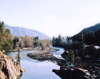 Photo of Animas River from Bridge near Durango, Colorado