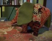 Scrap Baby Elephant Plushie