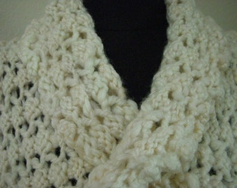 MERINO, SILK and BAMBOO Infinity Scarf
