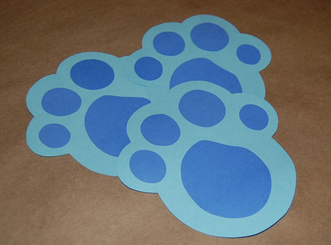 Blue's Clues Inspired Paw Print Game with Handy Dandy
