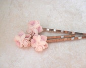 Lilac Bridal Bobby Pins