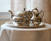 RESERVED for Mary C. - Antique Tea Set from England
