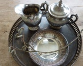 Vintage Reed and Barton Filigree Bowl