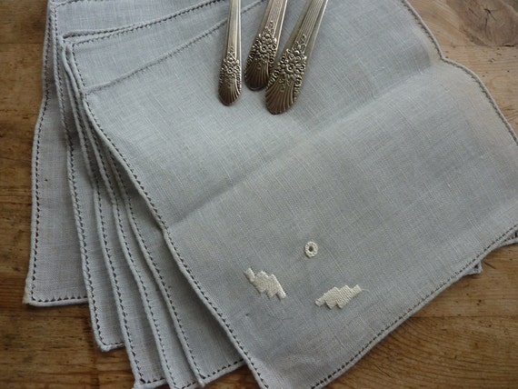 Linen Tea Napkins