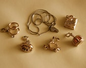 vintage lot of small charms
