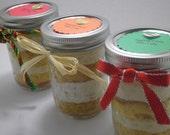 Eggnog Creme Bliss Jar Cake - 4 pack