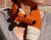 FauxFox Crochet Stole