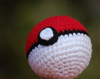 Pokeball Amigurumi Pokemon Plush Ball Toy