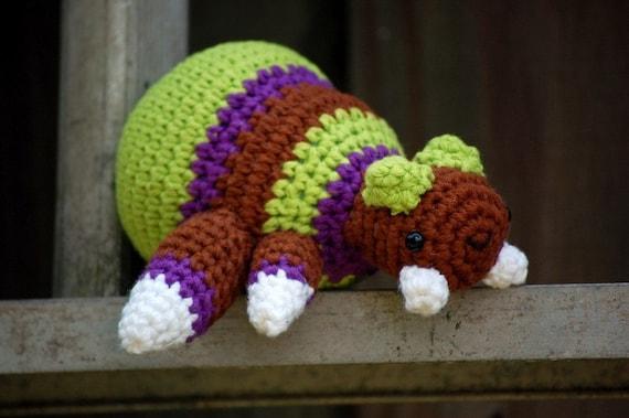 Custom Order Baneling and Overlord Amigurumi Starcraft plush Geekery Zerg crochet