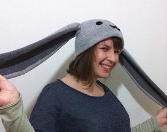 Grey Bunny Hat