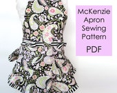 McKenzie Apron Sewing Pattern PDF