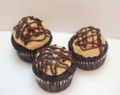 Vegan Chocolate PB Cupcakes