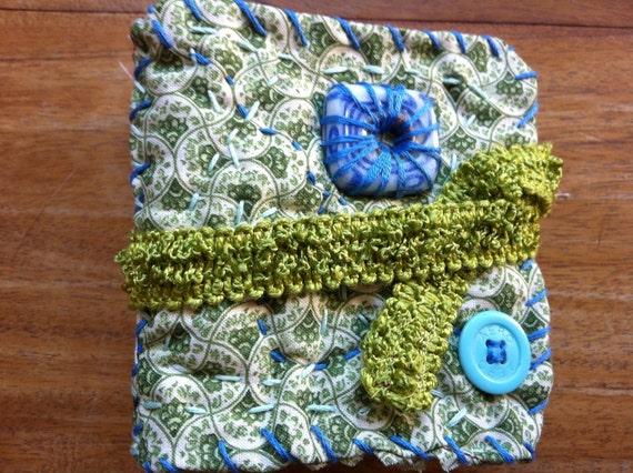 Voluptuous (Fat) Handmade Fabric Journal