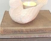 Ceramic Bird Tealight Holder Vintage