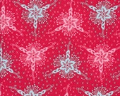 Anna Maria Horner - Loulouthi - Triflora in Lipstick Fabric HALF YARD