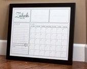 Print Your Own - Family Calendar - Style 2.2