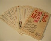 First Edition Hostess Guide Party Ideas Menus Recipes by JELL-O Gelatin Brand 1967 Vtg Collectible Card Set Gift Basket Idea