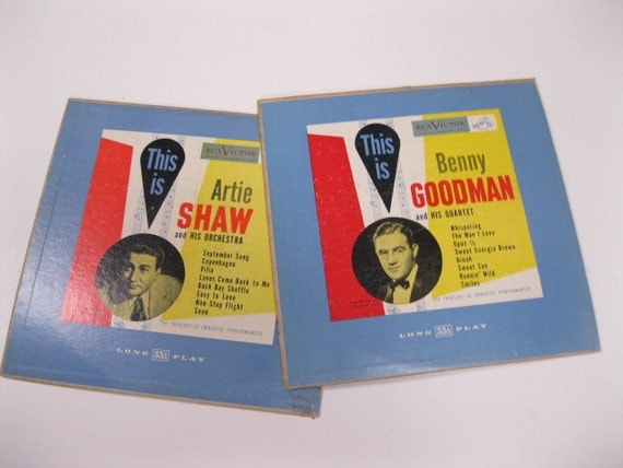 The Treasury or Immortal Performances Collector's Issues of Benny Goodman with His Quartet and Artie Shaw with His Orchestra