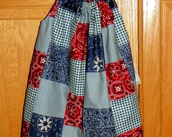 Patchwork Pillowcase Dress