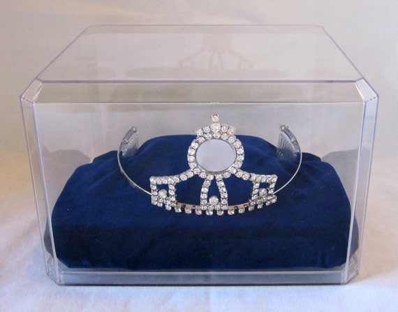 Tiara Crown Display Case for Pageant or Princess