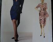 1988 Givenchy Vogue Pattern 2047